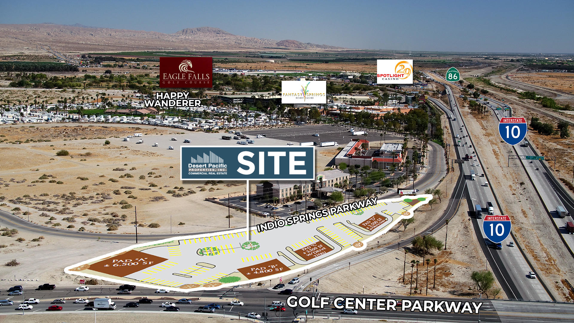 0 2.75 ac Golf Center Parkway, one of homes for sale in Indio