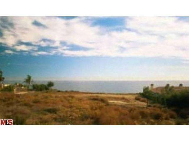 Land for Sale, ListingId:21981439, location: 24900 PACIFIC COAST Highway Malibu 90265