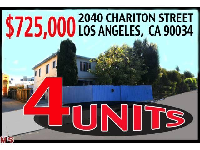 2040 Chariton St, Los Angeles, CA 90034