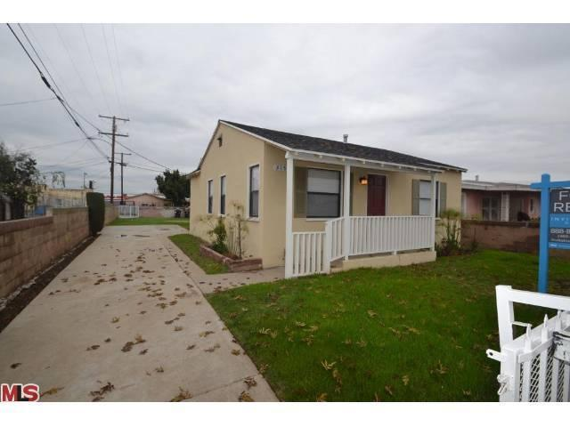 Rental Homes for Rent, ListingId:22439791, location: 315 129TH Street Los Angeles 90061