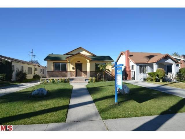 Rental Homes for Rent, ListingId:23108548, location: 5025 3RD Avenue Los Angeles 90043