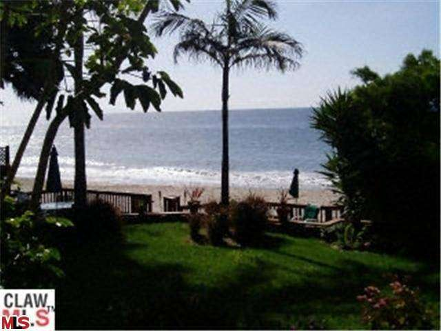 Rental Homes for Rent, ListingId:26042992, location: 27330 ESCONDIDO BEACH Road Malibu 90265