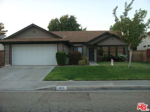 Rental Homes for Rent, ListingId:28994701, location: 1633 AVENUE K10 Lancaster 93534