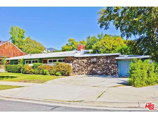 Rental Homes for Rent, ListingId:30482401, location: 370 MERCEDES Avenue Pasadena 91107