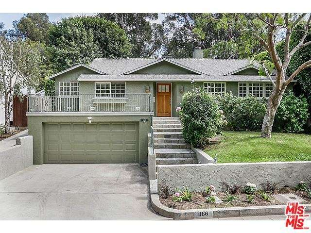 Rental Homes for Rent, ListingId:30668319, location: 366 North SKYEWIAY Road Los Angeles 90049