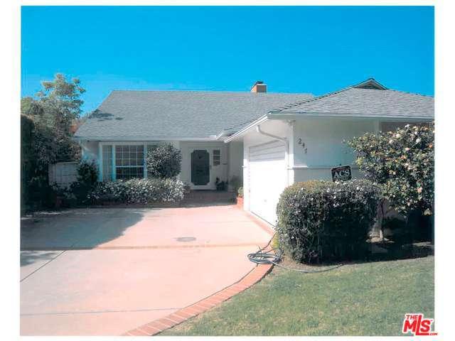 Rental Homes for Rent, ListingId:31261705, location: 247 ANITA Avenue Los Angeles 90049