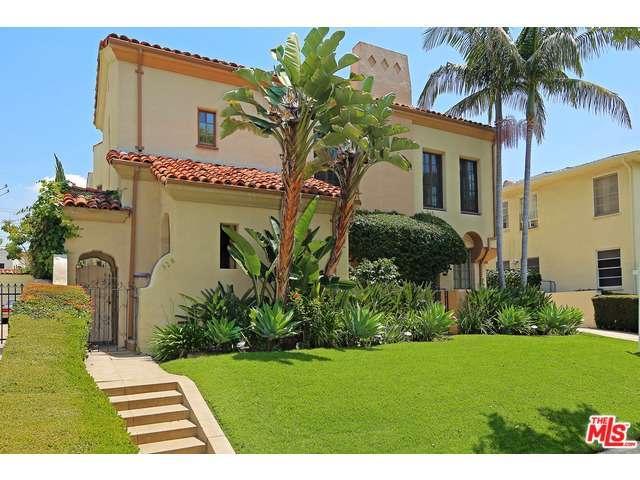 Rental Homes for Rent, ListingId:33469582, location: 328 North ORANGE Drive Los Angeles 90036