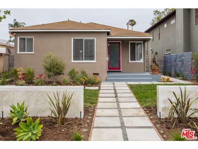 Rental Homes for Rent, ListingId:33368629, location: 3492 REDWOOD Avenue Los Angeles 90066