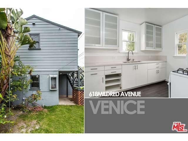 Rental Homes for Rent, ListingId:33974299, location: 618 MILDRED Avenue Venice 90291