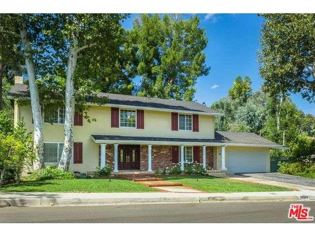 One of Tarzana 5 Bedroom Two Story Homes for Sale