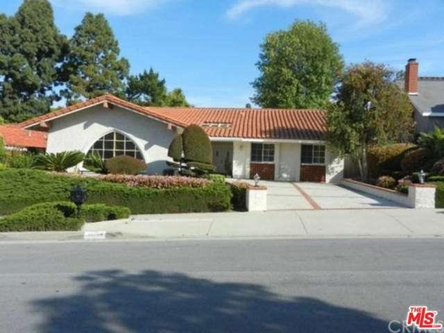 Rental Homes for Rent, ListingId:34940740, location: 26704 HAWKHURST Drive Rancho Palos Verdes 90275