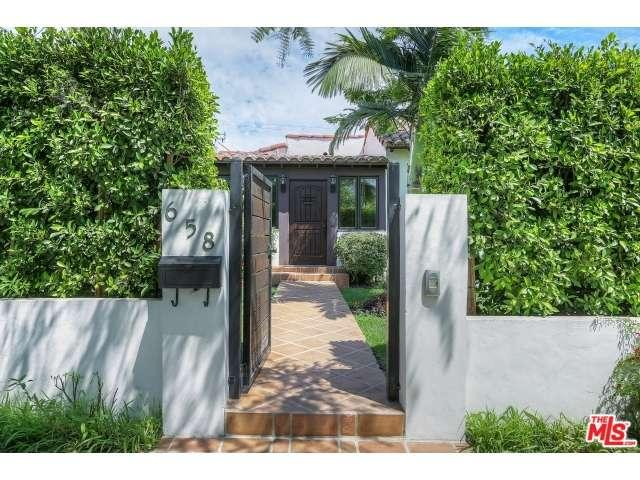 Rental Homes for Rent, ListingId:35124108, location: 658 North LAUREL Avenue Los Angeles 90048