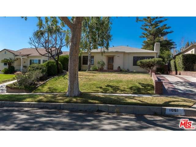 Rental Homes for Rent, ListingId:35621107, location: 1061 East GRINNELL Drive Burbank 91501