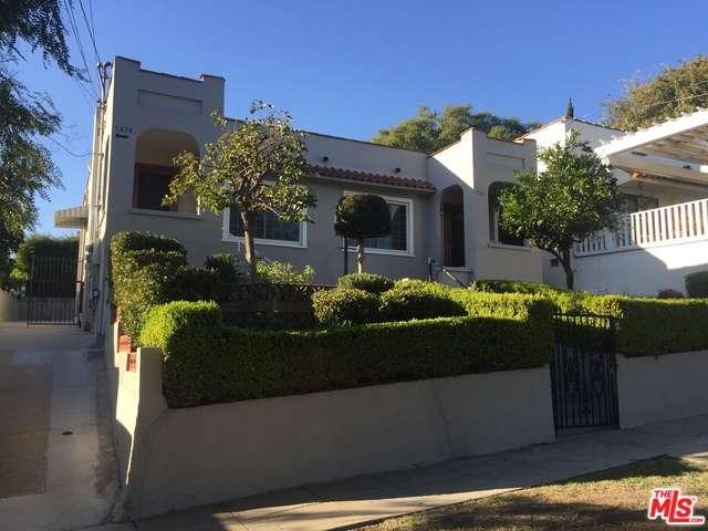 Rental Homes for Rent, ListingId:36238738, location: 727 ROBINSON Street Los Angeles 90026
