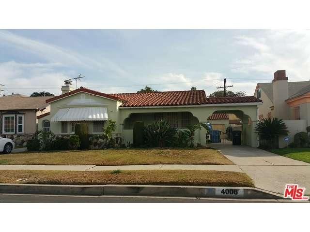 4006  WELLAND Avenue, Crenshaw in Los Angeles County, CA 90008 Home for Sale