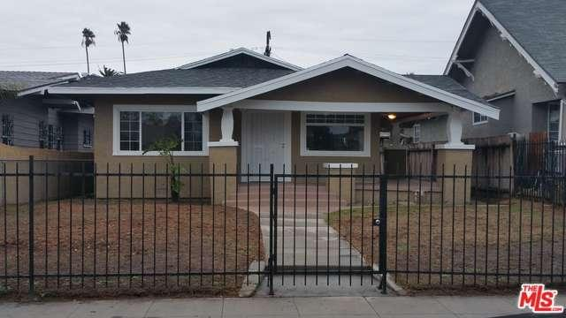 Photo of 1321 West 53RD Street  Los Angeles City  CA