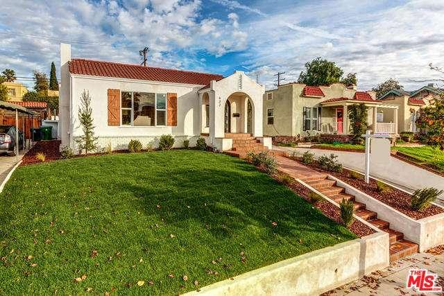 Photo of 632 North GOWER Street  Los Angeles City  CA