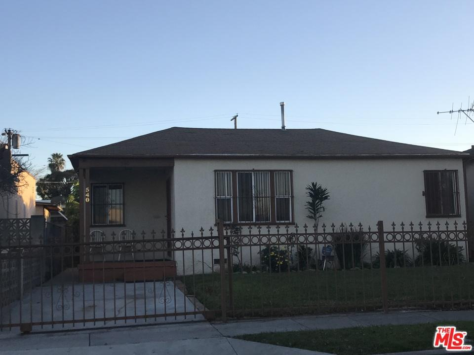 Photo of 540 West 111TH Place  Los Angeles City  CA