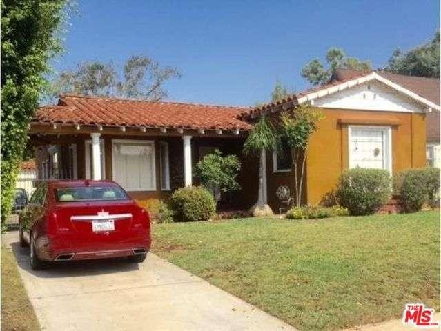 Photo of 1133 South CURSON Avenue  Los Angeles City  CA