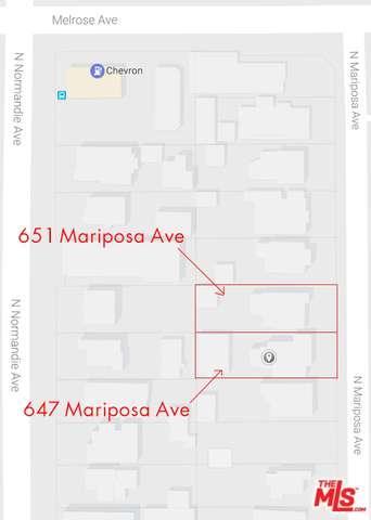 Photo of 647 North MARIPOSA Avenue  Los Angeles City  CA