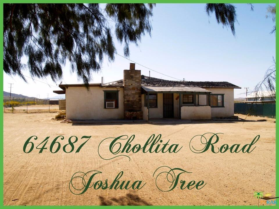 Photo of 64867  CHOLLITA Road  Joshua Tree  CA