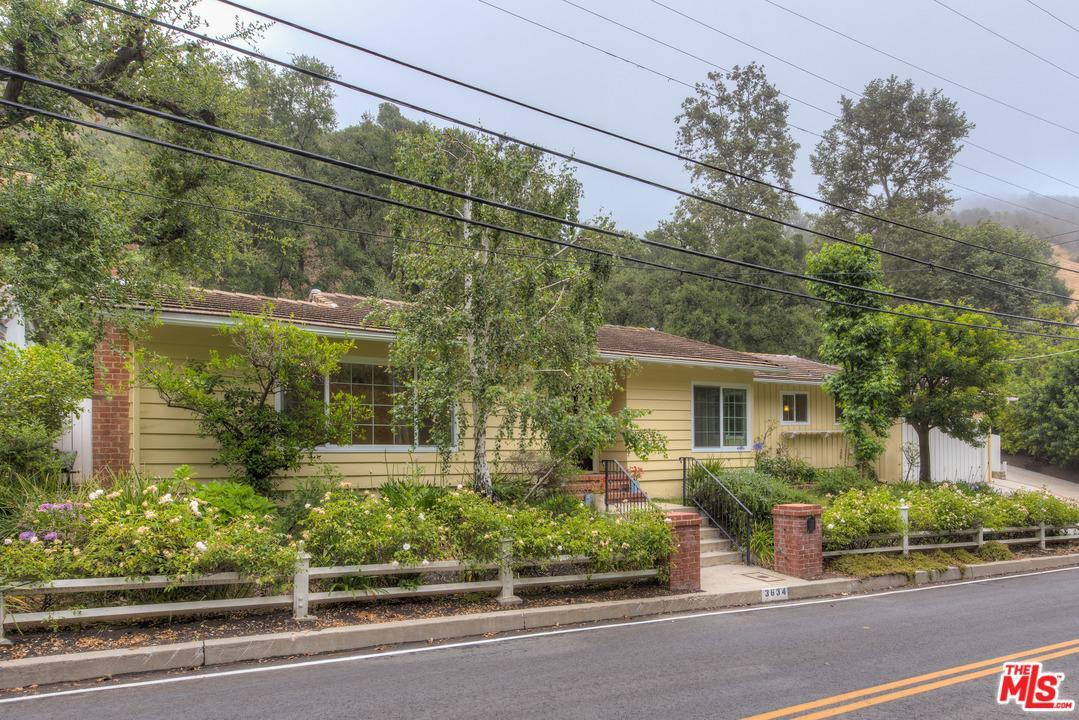 Photo of 3634  MANDEVILLE CANYON Road  Los Angeles City  CA
