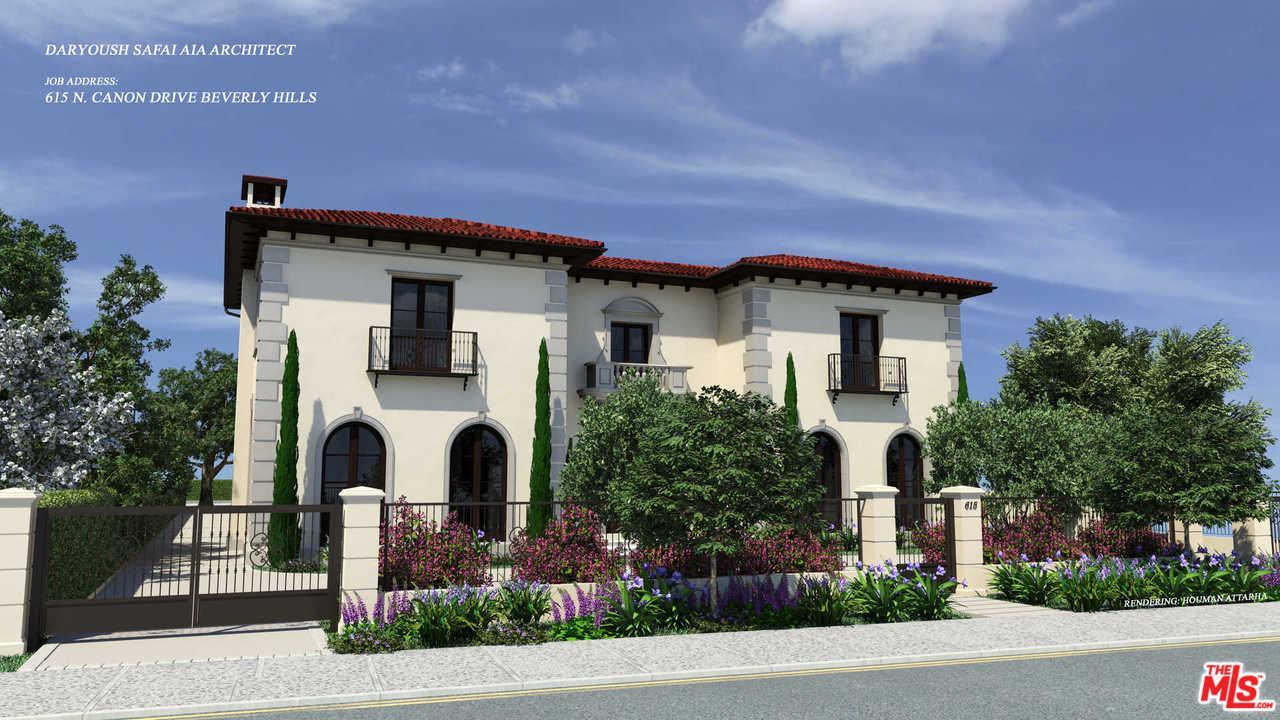 615 North CANON Drive, Beverly Hills, California