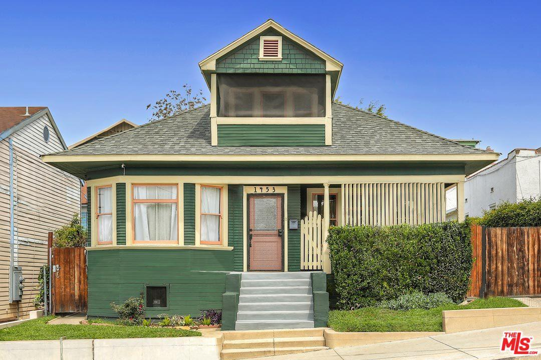 1453  BELLEVUE Avenue, Silver Lake Los Angeles in Los Angeles County, CA 90026 Home for Sale