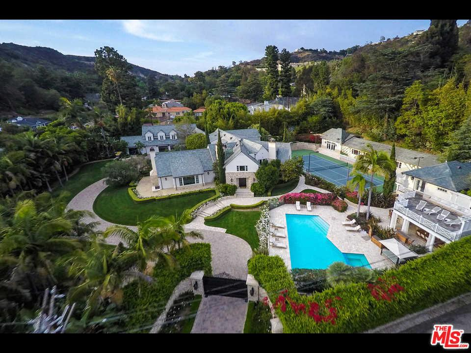 9555  HEATHER Road, Beverly Hills, California