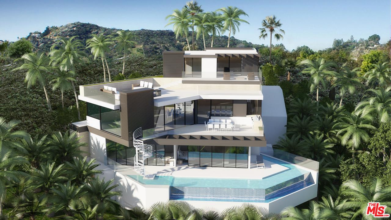 9328  BEVERLY CREST Drive, Beverly Hills, California
