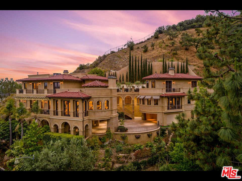 1744 STONE CANYON Road, Bel Air in Los Angeles County, CA 90077 Home for Sale