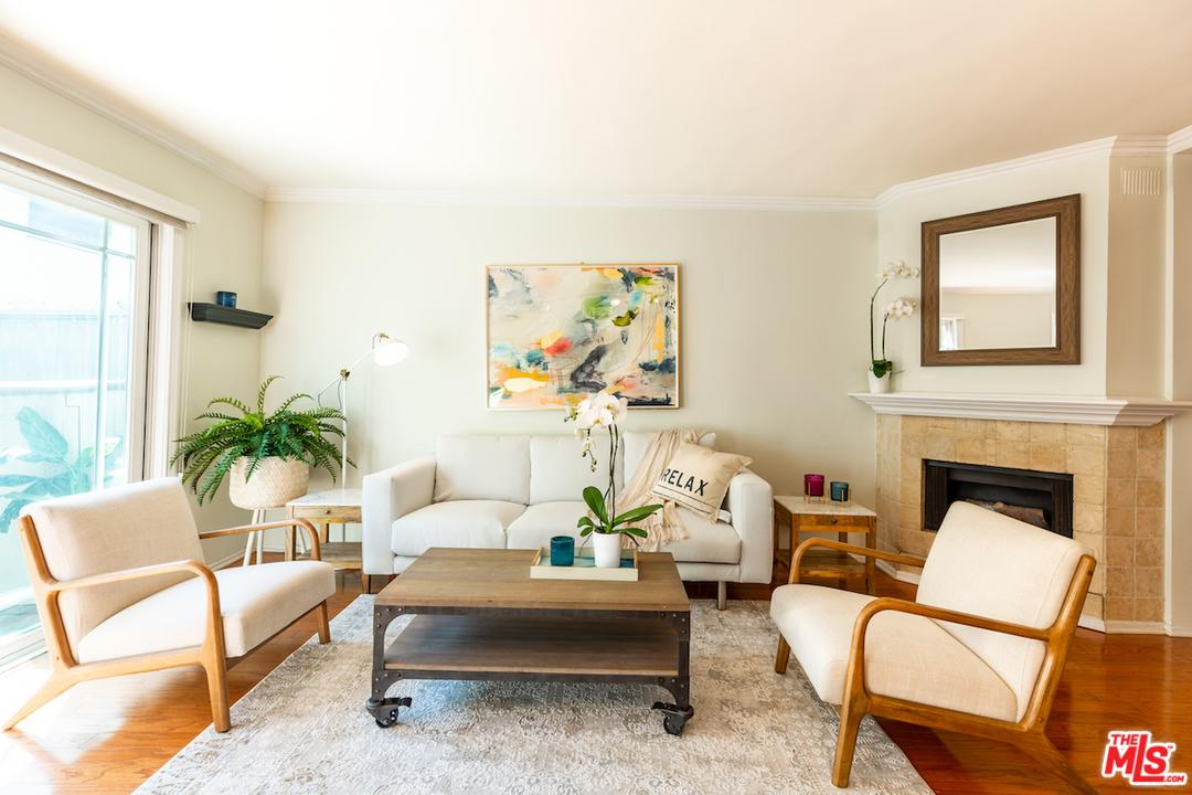 One of Gated Santa Monica Homes for Sale at 1538 South BERKELEY Street