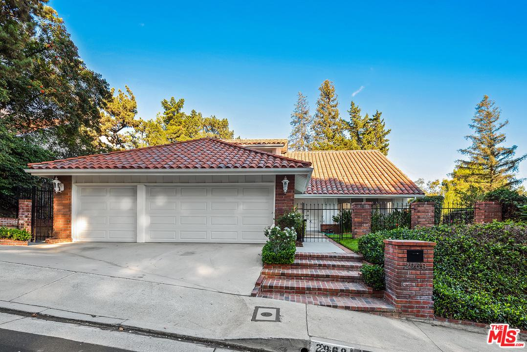 2968 NICADA Drive, Bel Air in Los Angeles County, CA 90077 Home for Sale