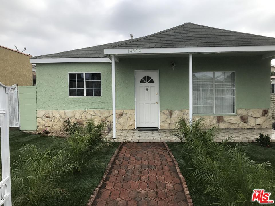 Single Story property for sale at 14802 FIRMONA Avenue, Lawndale California 90260