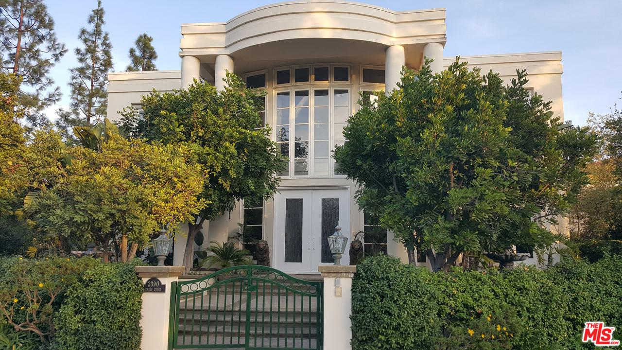 2390 EARLS Court, Bel Air in Los Angeles County, CA 90077 Home for Sale