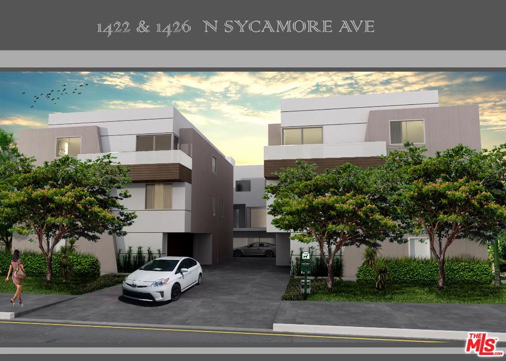 1422 North SYCAMORE Avenue, Hollywood Hills, California
