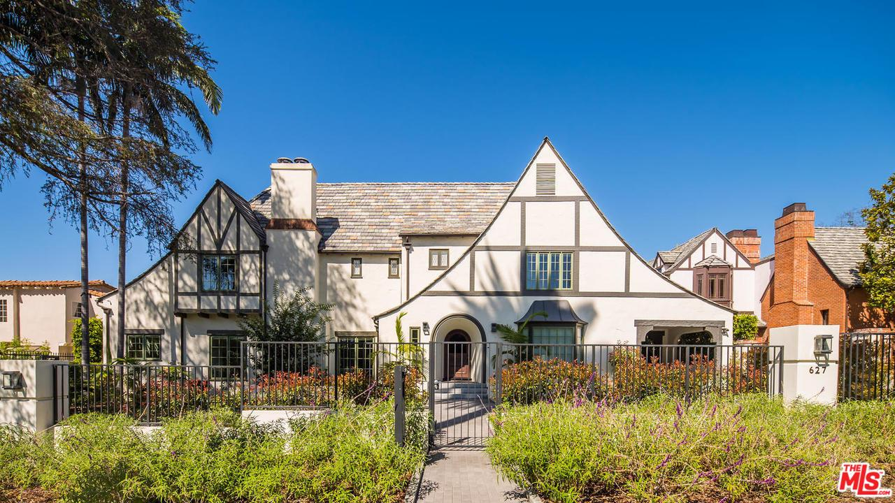 627 North HILLCREST Road, Beverly Hills, California