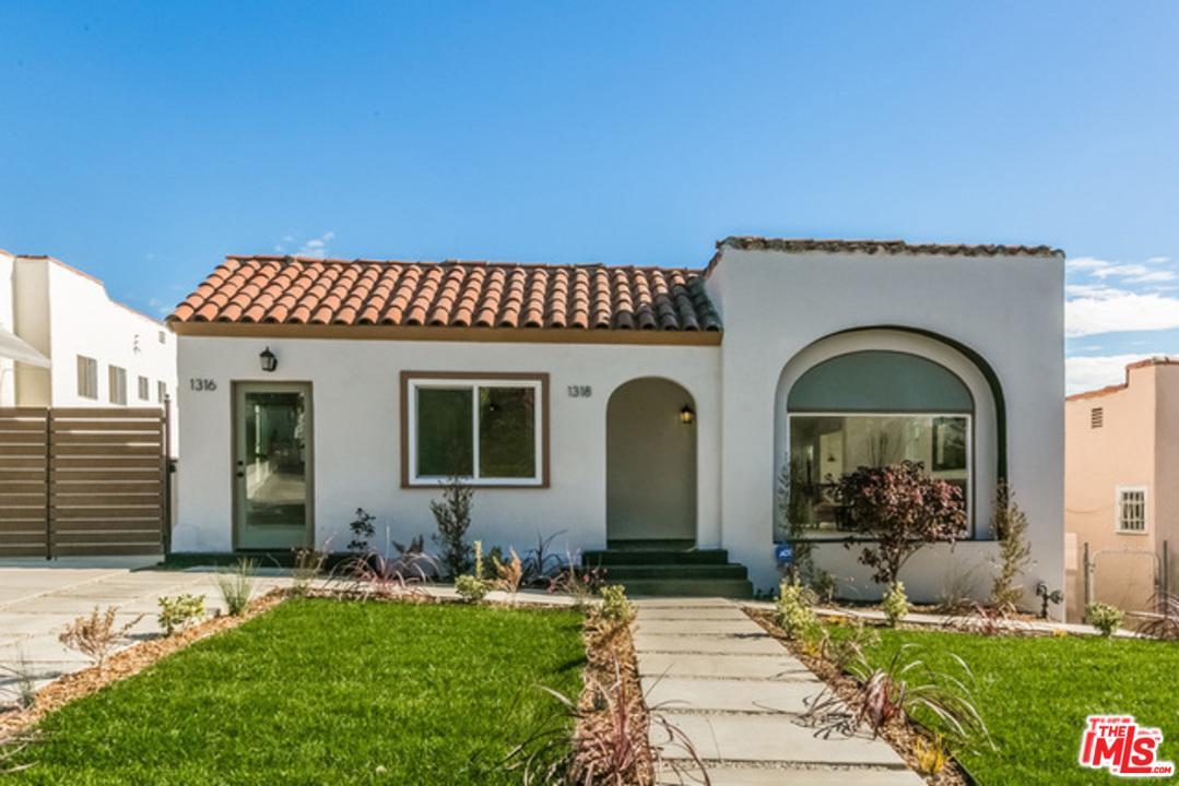 1316 South Hudson Avenue Los Angeles, CA 90019