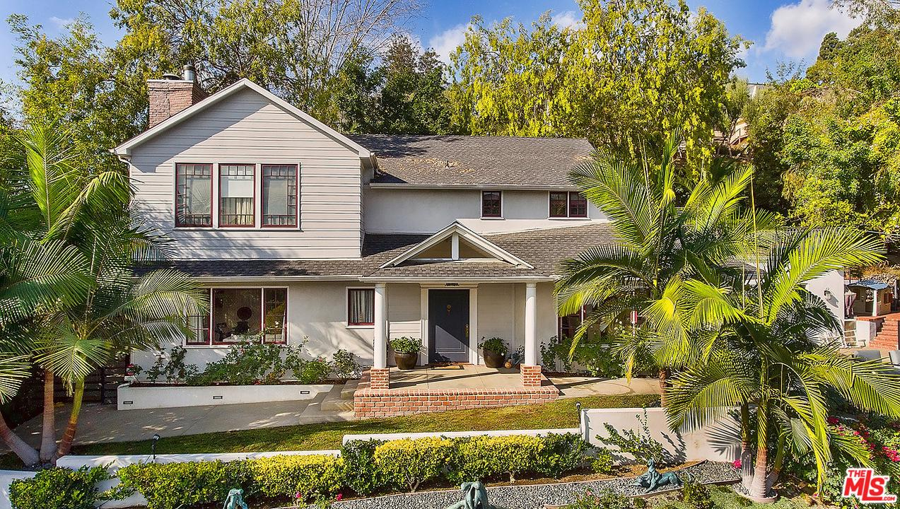 One of Hollywood Hills 6 Bedroom Homes for Sale at 1933 ORCHID Avenue
