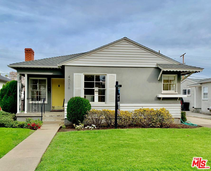4036 Tilden Avenue Culver City, CA 90232