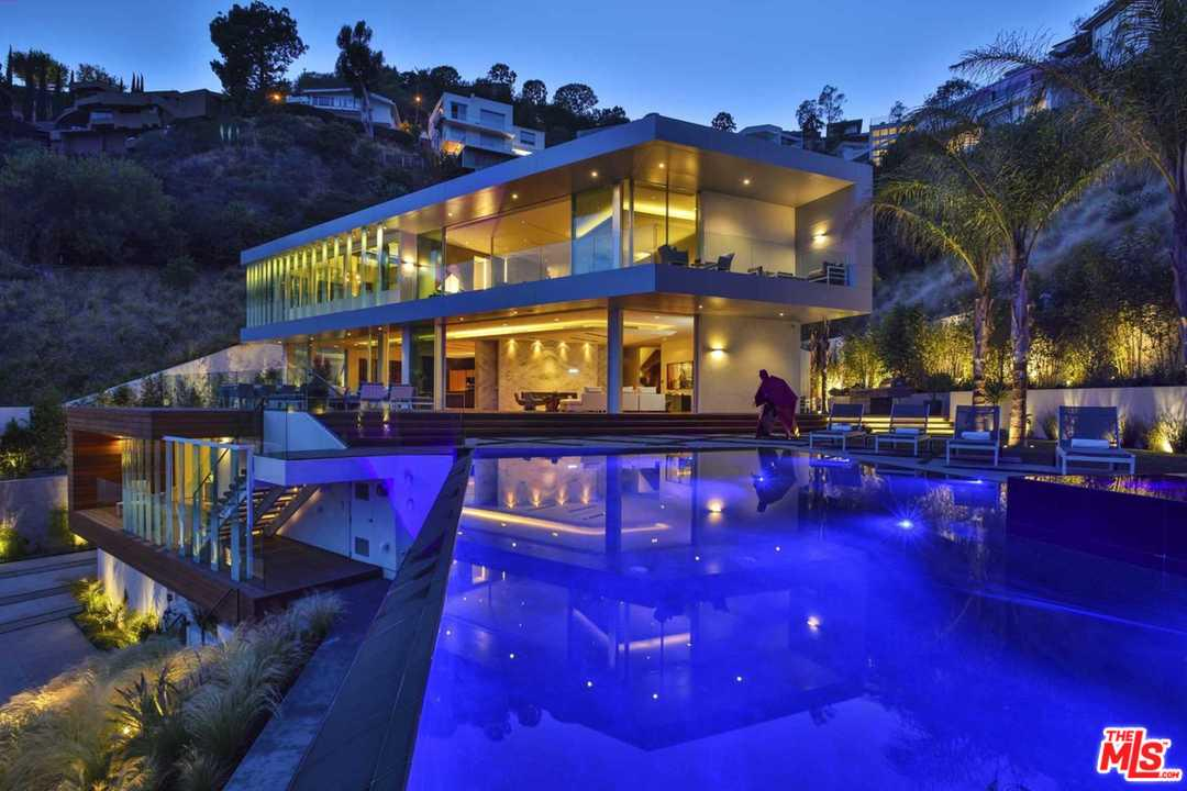 1895 RISING GLEN Road, Hollywood Hills, California 5 Bedroom as one of Homes & Land Real Estate