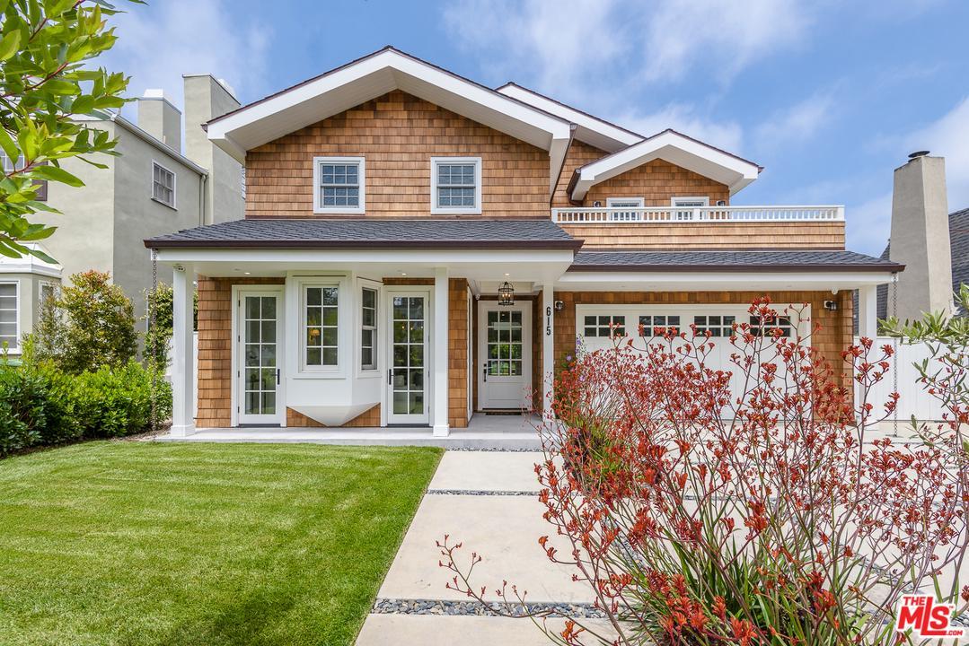 615 25TH Street, Santa Monica, California 5 Bedroom as one of Homes & Land Real Estate