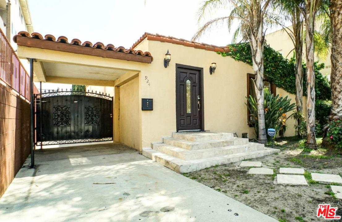 924 South Sherbourne Drive Los Angeles, CA 90035