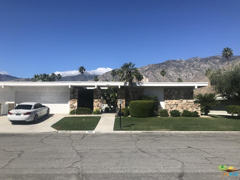 2283 South Madrona Drive Palm Springs, CA 92264
