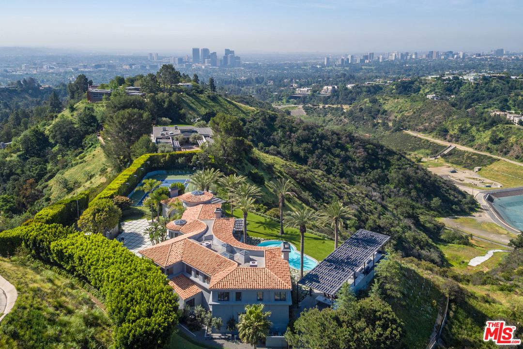 9719 HEATHER Road, Beverly Hills in Los Angeles County, CA 90210 Home for Sale