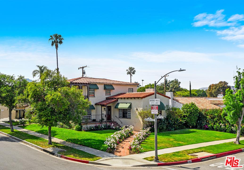 463 South ELM Drive, Beverly Hills in Los Angeles County, CA 90212 Home for Sale