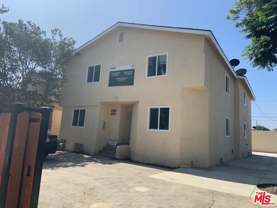 822 West 60th Street Los Angeles, CA 90044