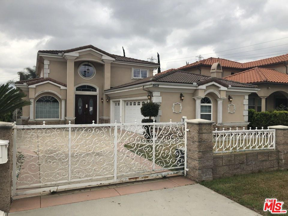 8618 East HERMOSA Drive, San Gabriel in Los Angeles County, CA 91775 Home for Sale