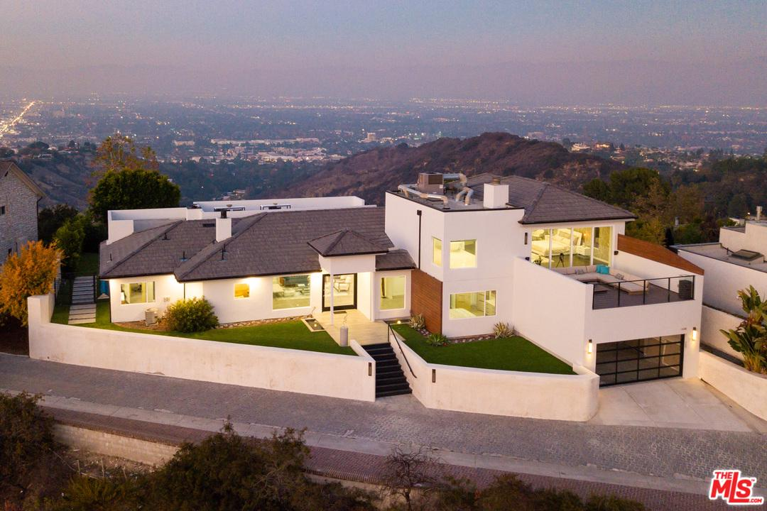 14380 MULHOLLAND Drive, Bel Air in Los Angeles County, CA 90077 Home for Sale
