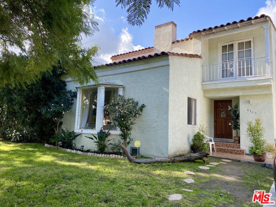 4105 EDGEHILL Drive, Crenshaw in Los Angeles County, CA 90008 Home for Sale